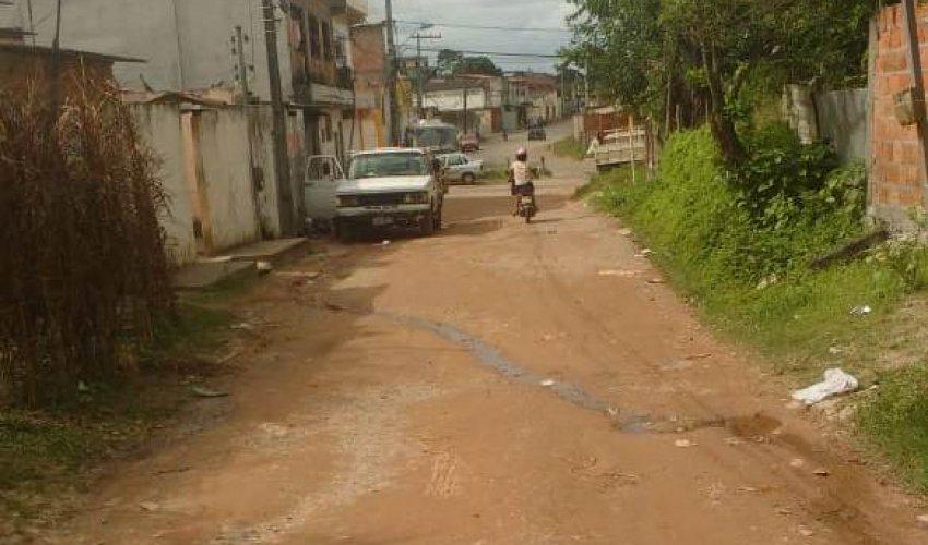 [Seu Bairro no CN: morador pede por asfalto em rua da Lama Preta]
