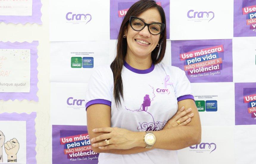 [Agosto Lilás: coordenadora do CRAM Yolanda Pires fala sobre violência contra a mulher]