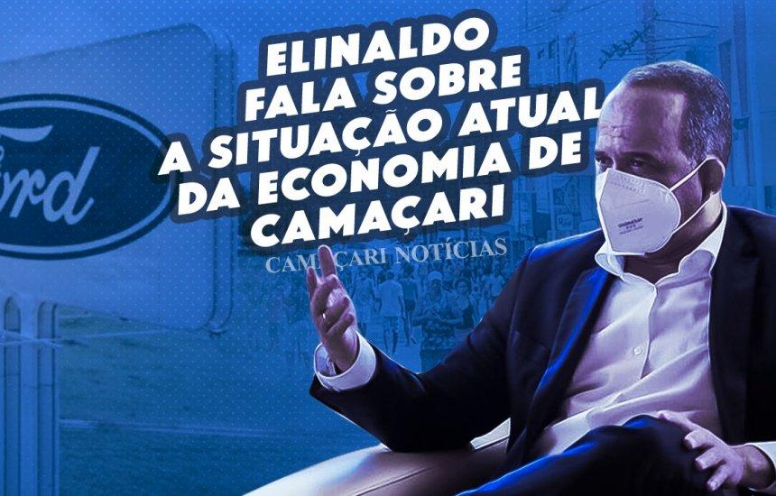 [Prefeito Elinaldo fala sobre situação econômica em Camaçari]