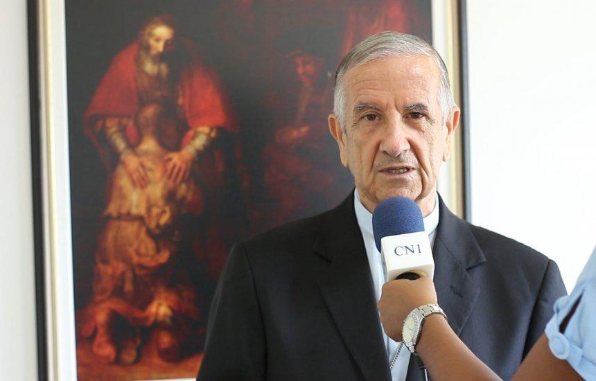 [Bispo Dom João Carlos Petrini deixa mensagem de natal para Camaçari]