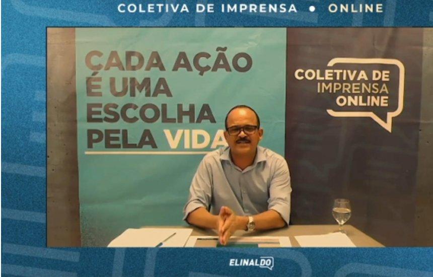 [Elinaldo fala sobre critérios do protocolo de abertura do comércio em Camaçari ]
