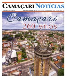 [Edição 206 do jornal impresso Camaçari Notícias conta histórias do município]