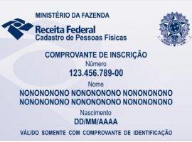 [Novo comprovante do CPF diminui risco de fraudes e garante segurança]