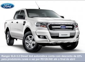 [Ford Ranger tem oferta especial para produtor rural e taxa zero]