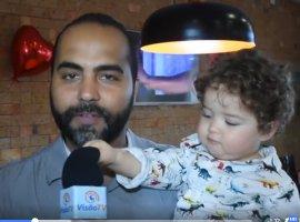[Bebezinho toma conta de entrevista na Bibi Gourmet. Veja mais fotos]