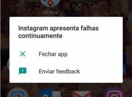 [Instagram parou de funcionar no Android devido a bug]