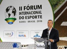 [Bahia sedia II Fórum Internacional do Esporte]