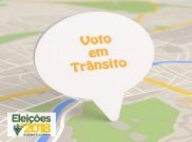 [Eleitores podem requerer voto em trânsito a partir desta terça-feira (17)]