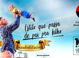 [Dia dos Pais Cometa : Estilo que passa de pai para filho ]