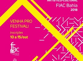 [Funceb levará artistas e agentes culturais do interior do estado para o FIAC 201]