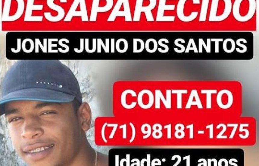 [Jovem de 21 anos está desaparecido em Camaçari]