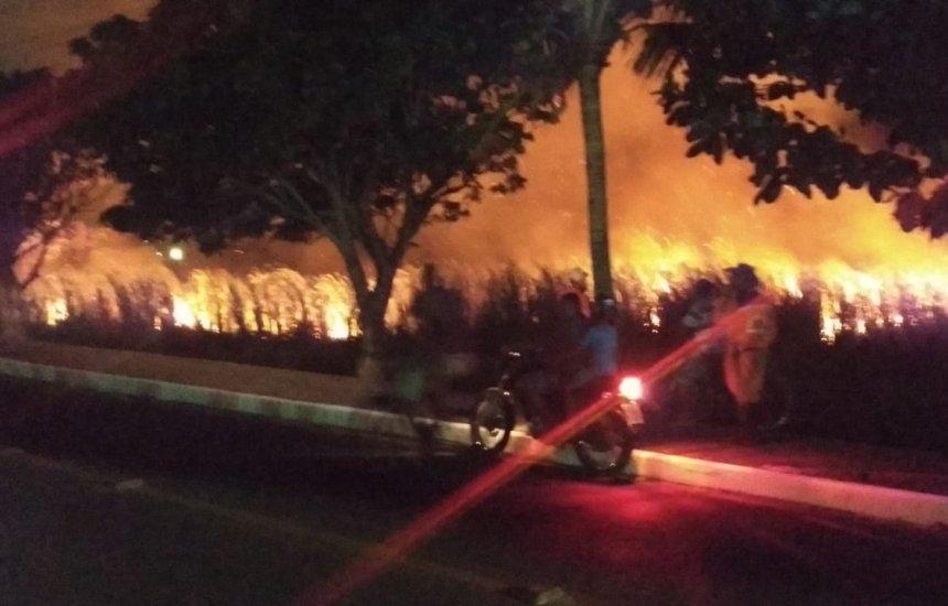 Incêndio arde em Jauá e Camaçari sente a falta de prevenção