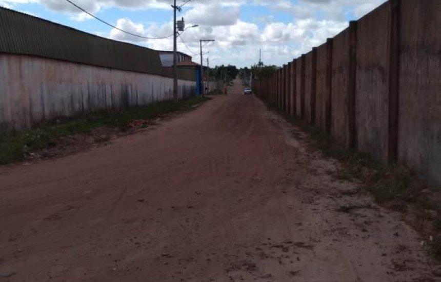 Seu Bairro no CN: morador do Jardim Limoeiro pede pavimentação