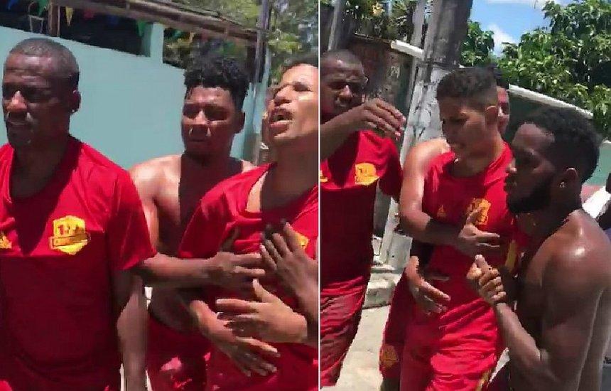 Vídeo mostra desespero de baleado pela PM em Portão: 'cadê minha filha?
