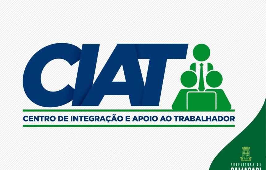 [Confira as vagas de emprego disponibilizadas pelo CIAT]