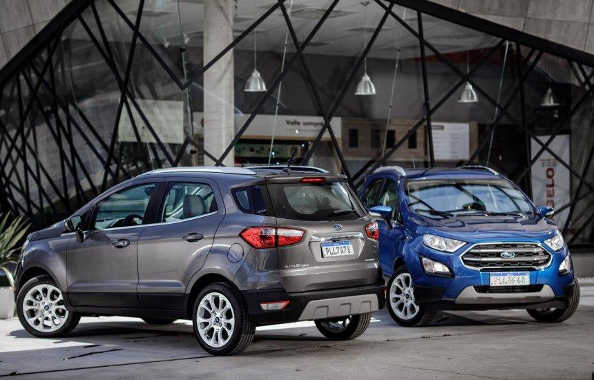 [Ford lança o EcoSport 2020 com nova versão Titanium com design renovado]