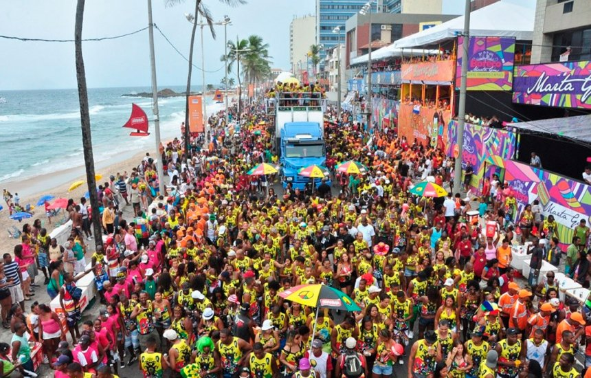 [Ordem dos desfiles dos trios do Carnaval de Salvador 2019 é divulgada]