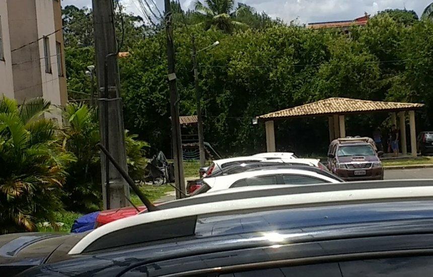 RONDESP realiza abordagens em condomínio de Camaçari