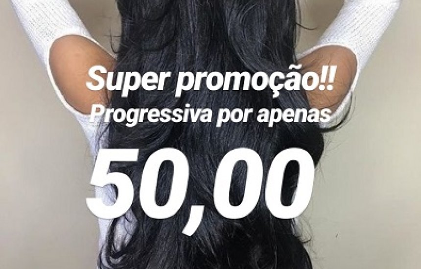 Super Promoção Salão Winner Hair . Progressiva apenas R$ 50!
