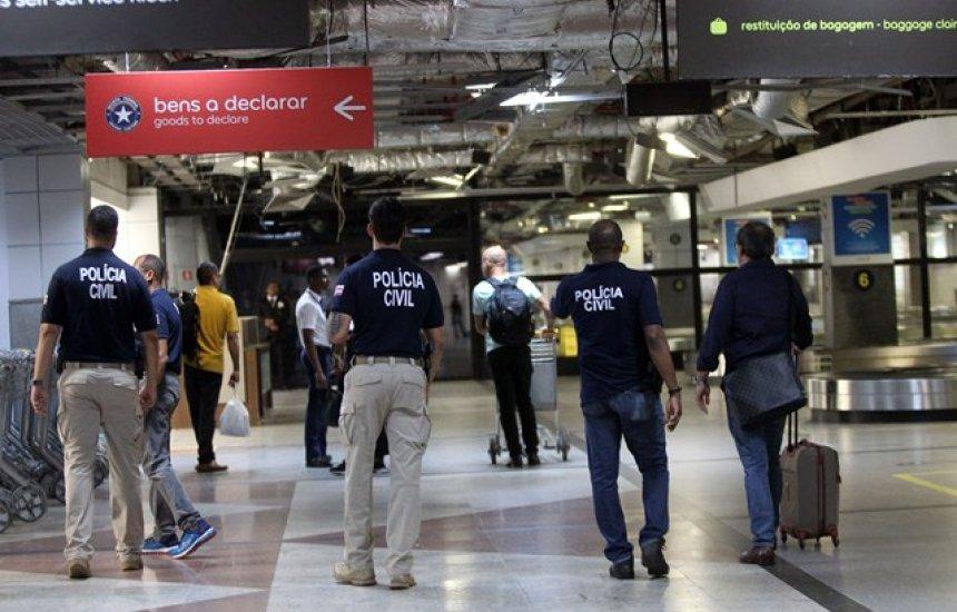 [Polícia Civil deflagra operação Voo Legal no aeroporto de Salvador]