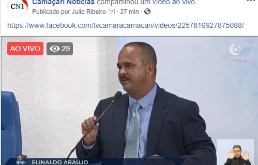 Abertura dos trabalhos legislativos de Camaçari 2019