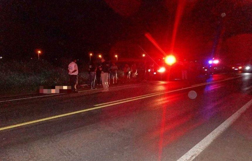[Ciclista morre após ser atingido por carro; motorista fugiu sem dar socorro]