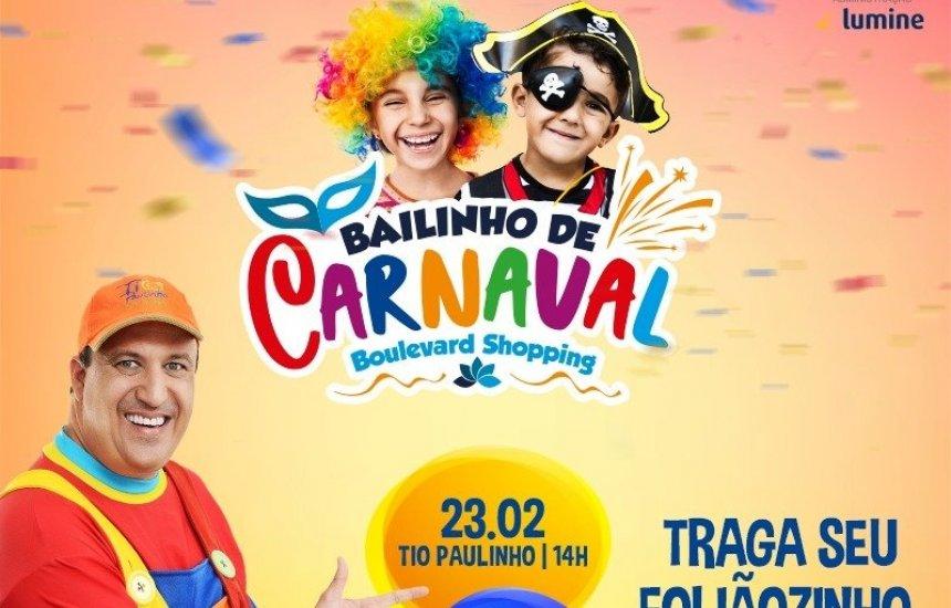 Clima de Carnaval invade o Boulevard Shopping Camaçari