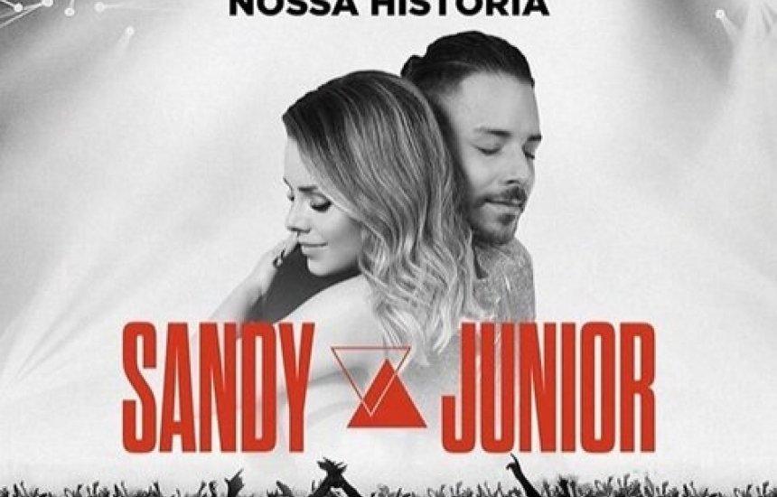 [Sandy e Junior anunciam Turnê
