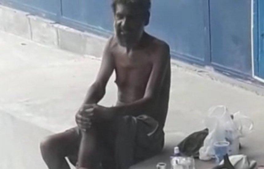[Leitora faz apelo por homem que vive nas ruas de Camaçari]