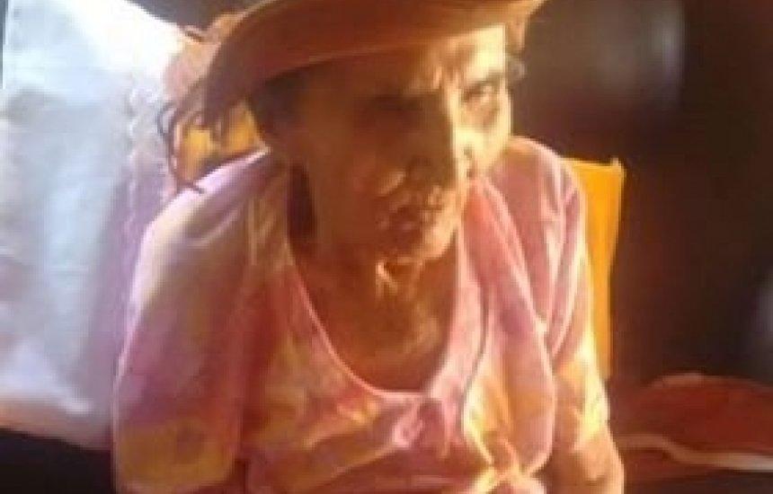 [Nota de Pesar pela morte da parteira Alzira Araújo Lima de Aragão da Lama Preta]