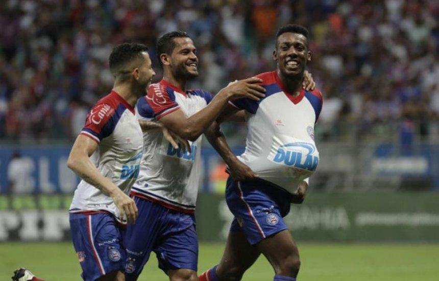 [Bahia vence Atlético com facilidade e encaminha vaga na decisão]