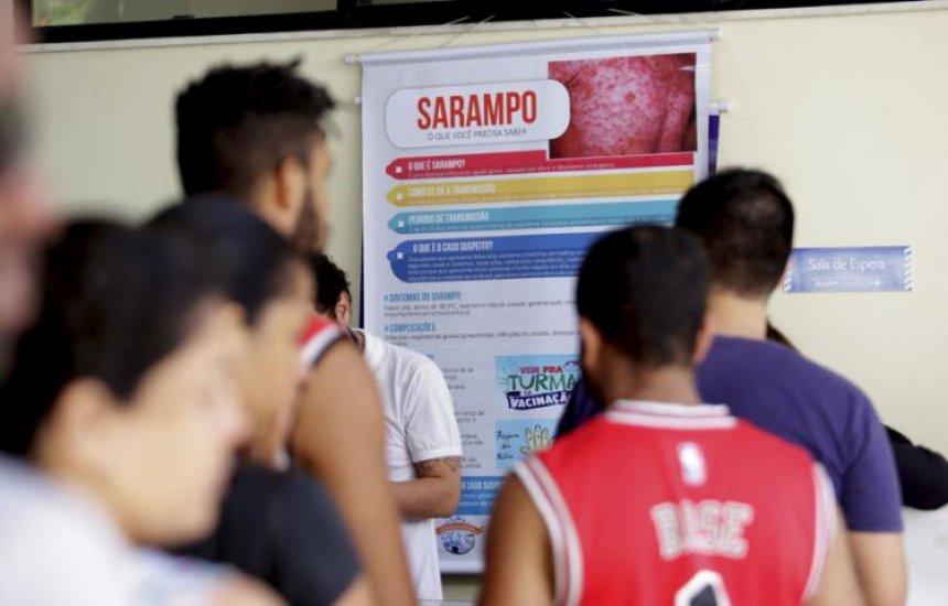 [Ministério confirma 1.226 casos de sarampo no Brasil]