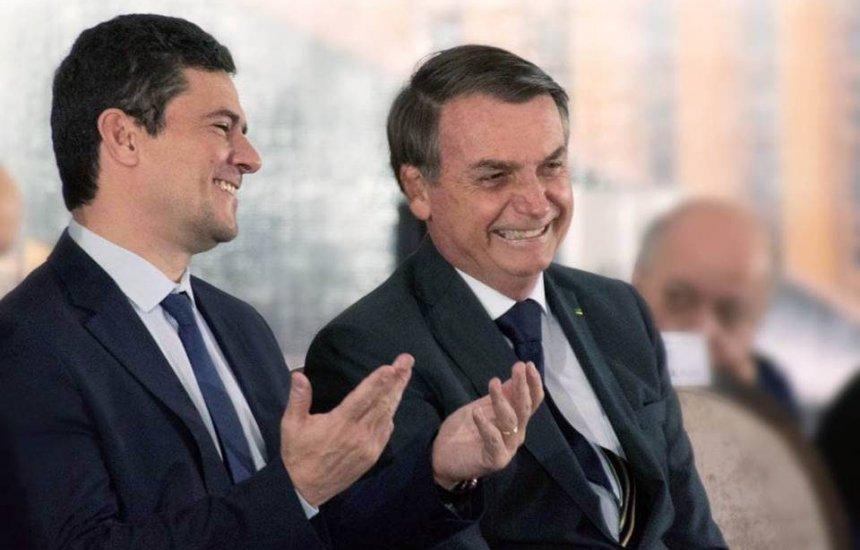 [Bolsonaro e Moro tiveram conversa áspera e ministro quase pediu pra sair]