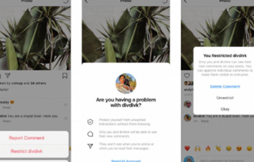 [Instagram libera ferramenta antibullying para todos os usuários]
