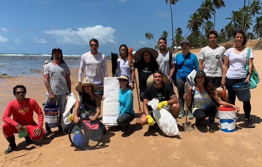 [Ivete Sangalo e Daniel Cady mobilizam seguidores para limpeza de óleo em praias do Nordeste]
