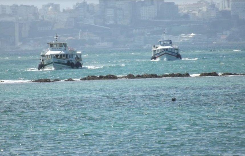[Travessia Salvador-Mar Grande opera sem restrições após o período de maré baixa]