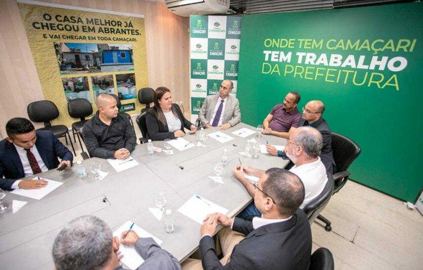 Segurança pública é tema de reunião entre Elinaldo e representante do governo federal