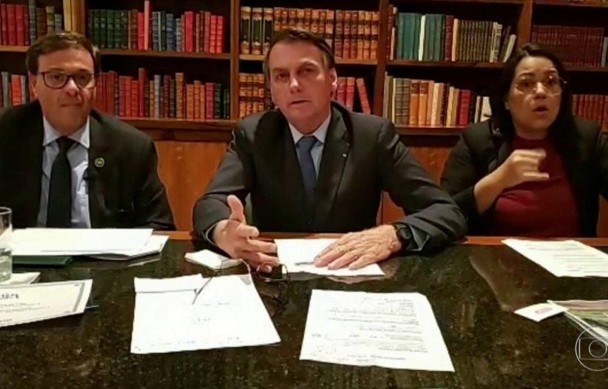 [Bolsonaro acusa Leonardo DiCaprio e WWF de financiarem queimadas na Amazônia]