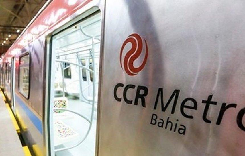 [CCR Metrô Bahia abre vagas de empregos]