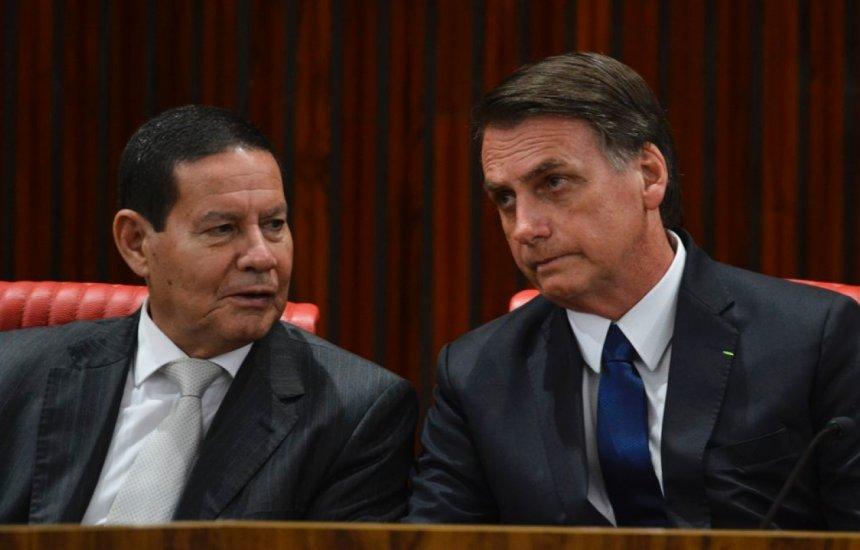 ['Estou casado com Mourão e sem amante', diz Bolsonaro sobre Moro vice em 2022]