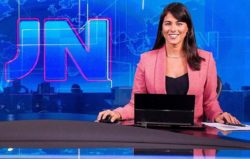[Jéssica Senra entra para o rodízio fixo do Jornal Nacional]