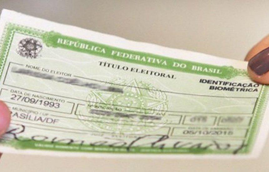 [Prazo para regularização do título de eleitor é estendido até maio; veja datas]
