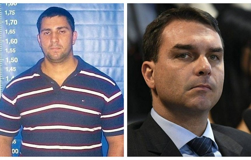 [Flávio Bolsonaro visitava Adriano na cadeia, diz ex-companheiro de cela]