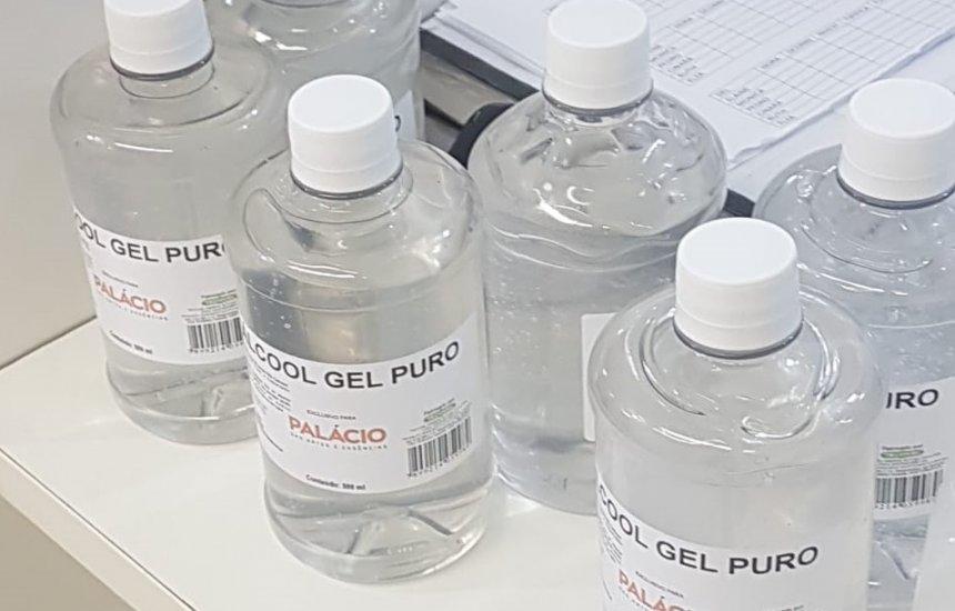[Higienizador de veículos vendido como álcool em gel é apreendido pela PM]