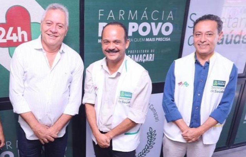 População de Camaçari passa a contar com a Farmácia do Povo 24h