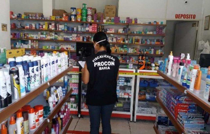 Procon notifica farmácias por preços abusivos em Camaçari