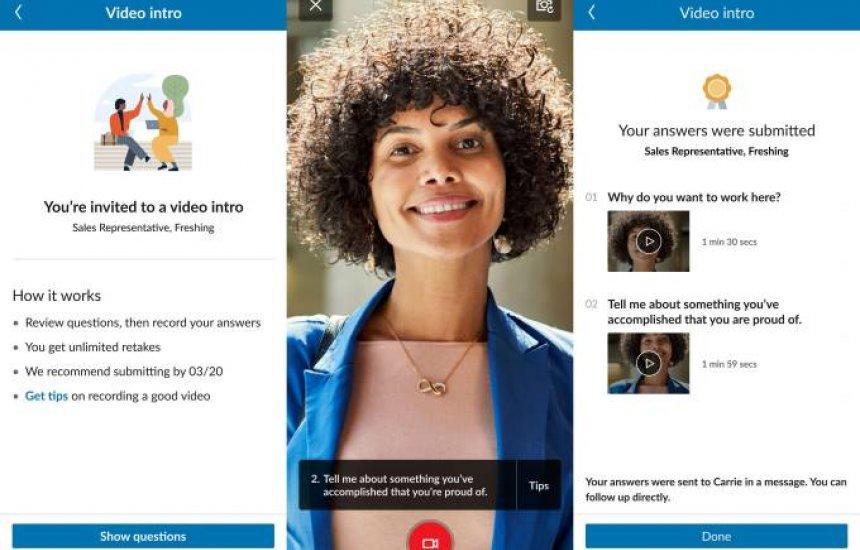 "[LinkedIn lança ferramenta para ""furar fila"" da entrevista de emprego]"