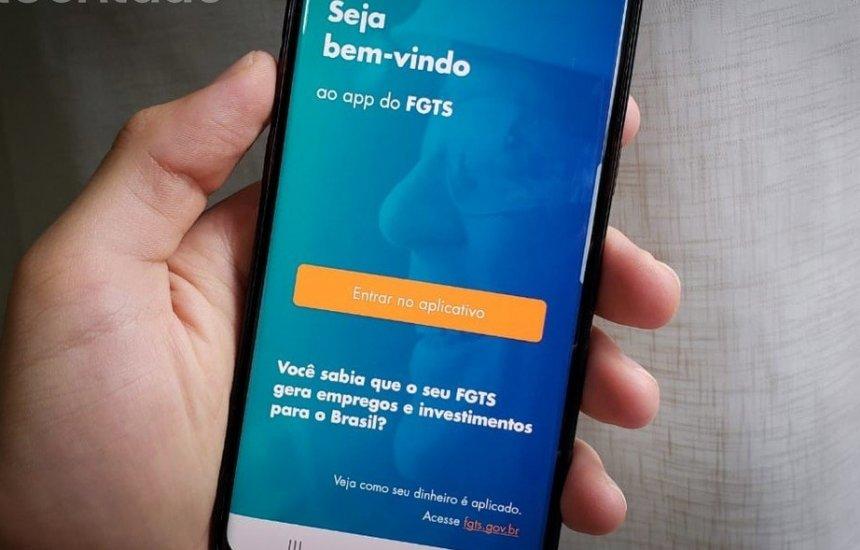 [FGTS App da Caixa deixa sacar o FGTS sem sair de casa]