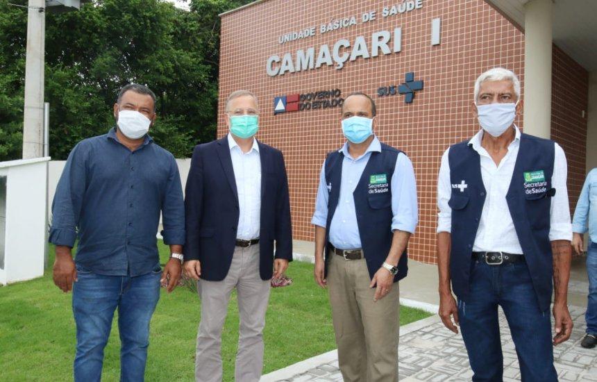 [Comunidade de Barra do Jacuípe ganha nova Unidade Básica de Saúde]