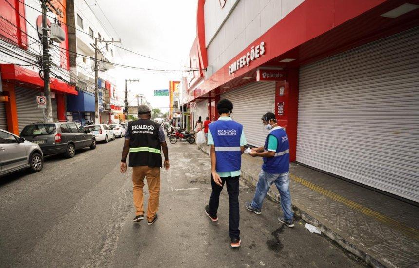[Prefeitura de Camaçari intensifica fiscalização em semana de feriados antecipados]